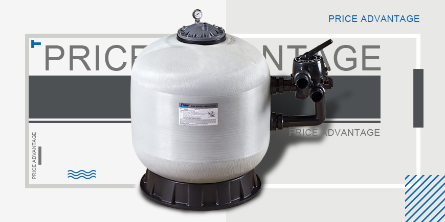 Swimming pool Side mounted Sand Filter